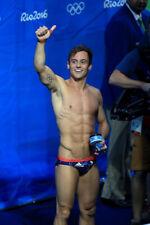 RARE Team GB mens Rio 2016 Olympic brief swimsuit Tom Daley swimming suit speedo