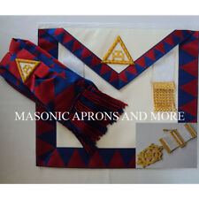 Masonic Regalia Royal Arch (RA) Companions Apron (Lambskin), Sash & Jewel Set