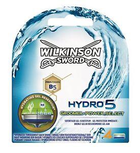 Wilkinson Sword Hydro 5 Groomer Power Select Rasierklingen 2 X 4=8 Stück