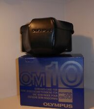 RARE FIND BOXED OLYMPUS OM10 1.4N EVER READY CASE , NEW in BOX , NEW OLD STOCK