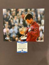BECKETT COA! NOVAK DJOKOVIC Signed Autographed 8x10 Photo Tennis