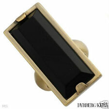 BLACK ONYX Ring by DYRBERG / KERN New with tags RRP $119