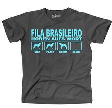 T-Shirt FILA BRASILEIRO HÖREN AUFS WORT by Siviwonder Unisex Hund Hundemotiv