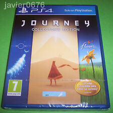 JOURNEY COLLECTOR'S EDITION NUEVO Y PRECINTADO PAL ESPAÑA PLAYSTATION 4 PS4