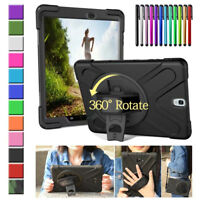 360 Rotating Armor Shockproof Case Cover For Samsung Galaxy Tab A E S2 S3 Tablet