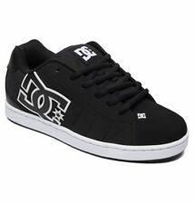 Scarpe Uomo Skate DC Shoes Net Nero Bianco Black White Schuhe Chaussures Zapatos