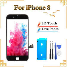 For iPhone 8 Black LCD Touch Display Screen Replacement- Original OEM Quality UK