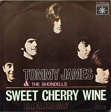 Tommy James & The Shondells-Sweet Cherry Wine/Breakaway 45 RPM NM ITALIAN ISSUE