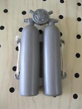VINTAGE GI Joe G.I. CLONE DOLL LIGHT PLASTIC GRAY SCUBA DIVING TANK/ELASTIC NICE