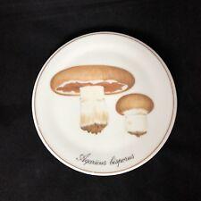 B&G Copenhagen Porcelain Wall Plate Trivet Denmark Dyrket Champignon Mushroom