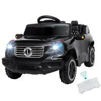 Safety Kids Ride on Car Toys Battery Power 4 Wheels Music Light Remote Control