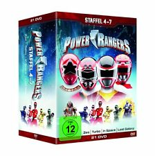 POWER RANGERS COMPLETE SEASON 4 5 6 & 7 BOX -  DVD - PAL Region 2