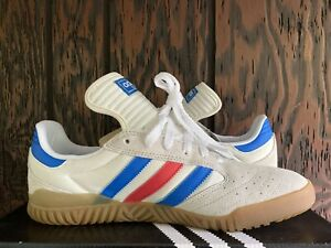 adidas Mens Skateboarding Busenitz Indoor Super Shoe size 10 White/Red/Blue