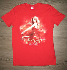 Two Sided Taylor Swift 2011 Speak Now Concert Tour T-shirt Adult Medium