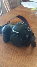 Canon EOS 6D 20.2MP Digital SLR Camera - Black (Body Only) Great shape