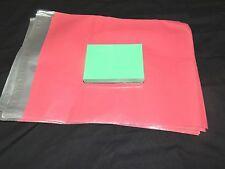 100 Pink 12x15 Flat Poly Mailer Envelopes, Self Sealing Shipping Bag Mailing