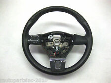 2011 VW JETTA STEERING WHEEL 3 SPOKE BLACK VOLUME PHONE SWITCH OEM 11 12 13