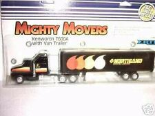 1/64  Kenworth Semi T600A w/Van-NORTHLAND OIL--Ertl '87
