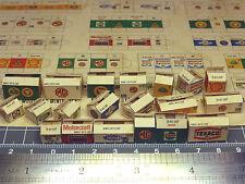 20 color cajas de G.B. 1:43 - 1:32 para diorama, tren de ranura, enormemente, taller