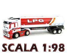 Camion RADIOCOMANDATO RC mini scala 1:98 autoarticolato r/c CON LUCI