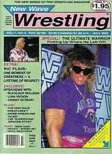 New Wave Wrestling Magazine No. 4 - July 1992 - The Ultimate Warrior Invades WWF