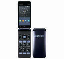 NEW KYOCERA KYF37 GRATINA 2 WIFI KEITAI ANDROID FLIP PHONE BLACK UNLOCKED
