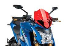 Pièces détachées de carrosserie et cadres rouge Puig pour motocyclette Suzuki
