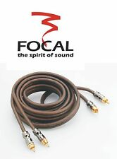 Focal ELITE ER1 Chinch Kabel 1m 6mm²  100%  Kupfer Car & Home HiFi  Chinchkabel