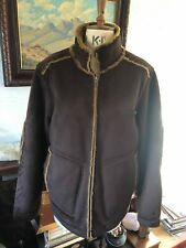 duck and cover medium mens jacket shell 100% polyester lining mixture used