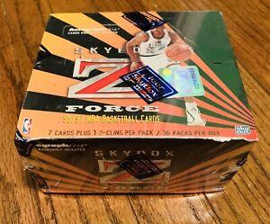 1996-97 Fleer Skybox Z-Force Series 1 36-Pack Box FACTORY SEALED Kobe Bryant RC?