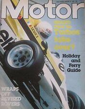 Motor magazine 23/1/1982 featuring Citroen 2CV6 Special road test