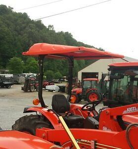 "Kubota, Kioti, Agco Tractor Canopy orange 45"" W X 60"" L  Polyethylene BARE-CO"
