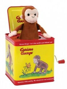 Curious George Jack in Box Tin Schylling 200368