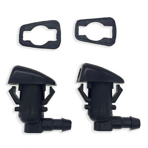 2PCS For Jeep Grand Cherokee 2011-2018 Windshield Washer Nozzle Front Left Right
