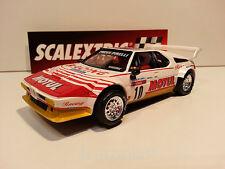 """Slot SCX Scalextric Altaya BMW M1 """"Rallies Míticos"""" Tour de Corse 1982 Nº10"""