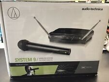 Audio-Technica Atw-902A System 9 Vhf Wireless Handheld Microphone System Black