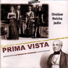 Quatuor Prima Vista CD Onslow Reicha Jadin