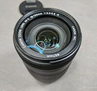 Canon EF-S 18-135mm f/3.5-5.6 IS Lens - scratches on glass