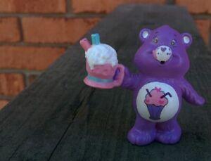 "CUSTOM Vintage Kenner Care Bears PVC Mini Figure 2"" Classic Milkshake SHARE BEAR"