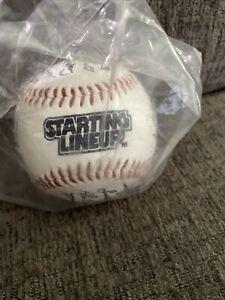 1989 Starting Lineup Un-Signed Facsimile Baseball Clemens Brett MLB SLU Ball