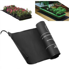 "Seeding Heat Mat Seed Starter Plant Pad Germination Propagation Clone 10x20"""