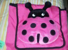 Gymboree Plush Pink Ladybug Backpack Toddler Girls Nwt