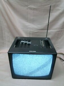 BRIONVEGA MONITOR 15 Televisore TV Vintage d'epoca Design BELLINI - FUNZIONANTE