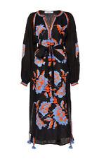 Black embroidered dress boho style - ukrainian folk ethnic vyshyvanka. All sizes