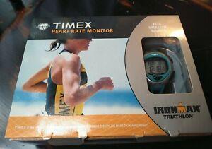 TIMEX IRONMAN TRIATHLON WOMENS WATCH & HEART RATE MONITOR RUNNING NEW BATTERIES