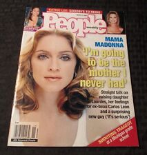2000 PEOPLE Magazine March 13 MADONNA Straight Talk on Motherhood VF+