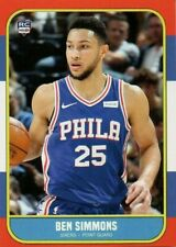 2016 BEN SIMMONS ACEO 1986 FLEER RC LOGO 76ER'S ROOKIE BASKETBALL CARD