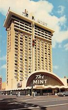 NV 1960's The Mint Hotel & Casino Downtown Fremont Street in Las Vegas, Nevada