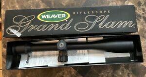 weaver grand slam rifle scope