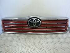 2004 TOYOTA AVENSIS FRONT BUMPER GRILLE